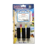 Заправний комплект HP №21/121/122  WWM  Black  3x20ml