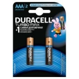 Батарейка Duracell  TURBO  AAA  (2шт)  блістер