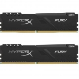 Пам'ять DDR4 32GB (2x16GB)  2400 MHz  Kingston HyperX FURY Black