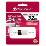 USB 3.1 флеш 32Gb Transcend  JF 890 (USB 3.1+Type-C)