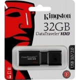 USB 3.0 флеш 32Gb Kingston  DT100