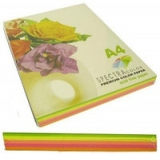 Папiр SINAR  Speсtra  A4/ 80  Rainbow Pack  Light  (неон)  5х20/100арк.