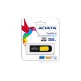 USB 3.1 флеш 32Gb ADATA  UV128 Black-Yellow