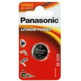 Батарейка Panasonic  CR2032  3.0V  (1шт)  блістер