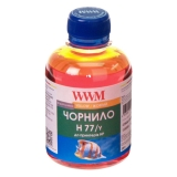 Чорнило HP 177  WWM  H77  Yellow  200г