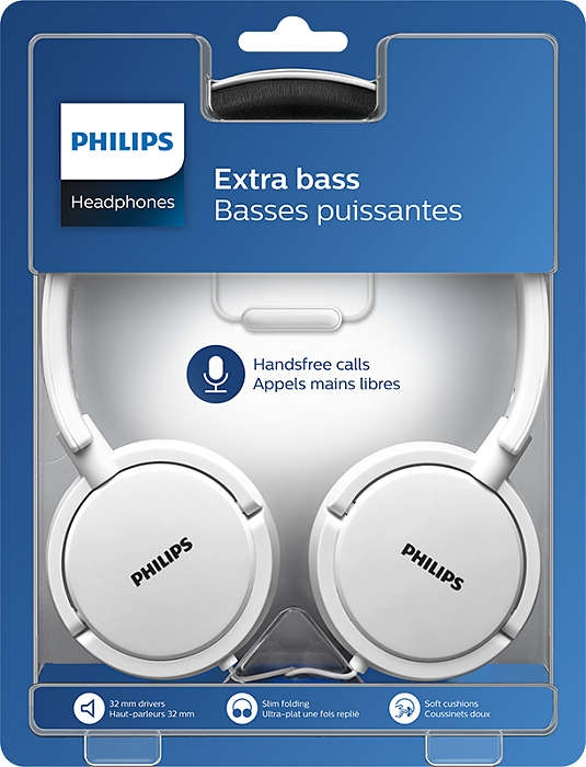 Гарнітура Philips  SHL5005  Mic,  white