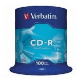 Диск CD-R Verbatim 700MB Cake(100) Extra Protection (43411)