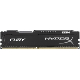 Пам'ять DDR4  4Gb  2400MHz  Kingston  HyperX Fury BLACK
