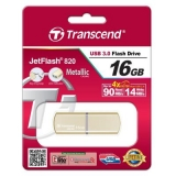 USB 3.0 флеш  16Gb Transcend  JF 820  Metal Gold